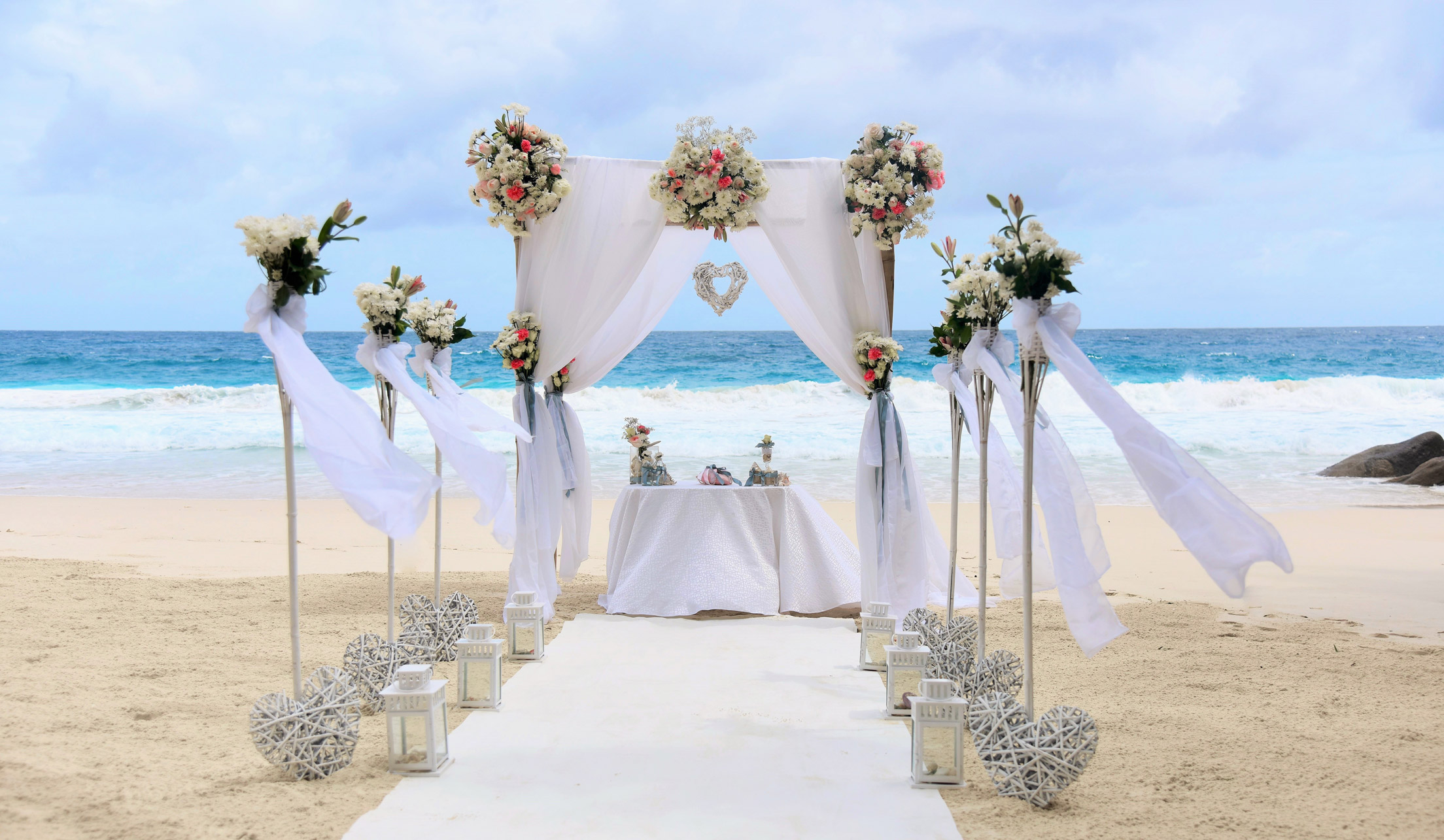 Coconut Beach Wedding - Weddings in Seychelles by Marco Pross
